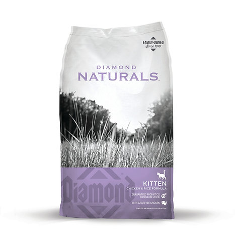 Diamond Naturals Kitten Chicken & Rice Formula