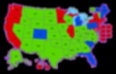 RECIPROCITY map