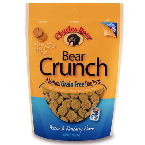 Charlee Bear Bear Crunch Bacon & Blueberry