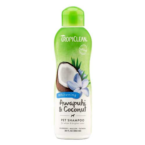 Tropiclean Awapuhi & Coconut Whitening Shampoo