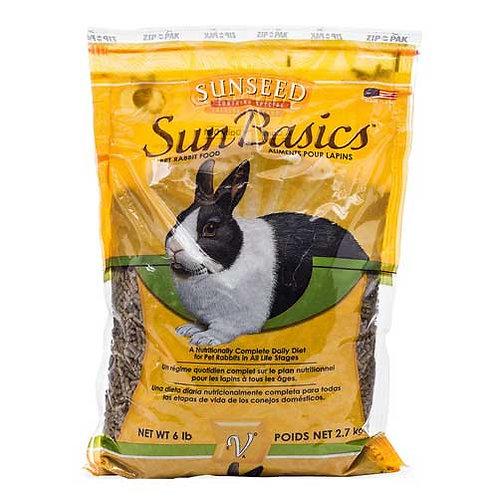 Sunseed Sun Basics Adult Rabbit Food