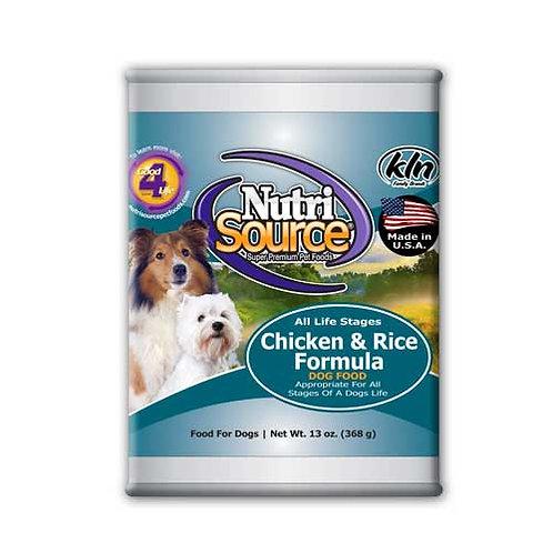 NutriSource Chicken & Rice Formula