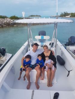 Boats in Bahamas