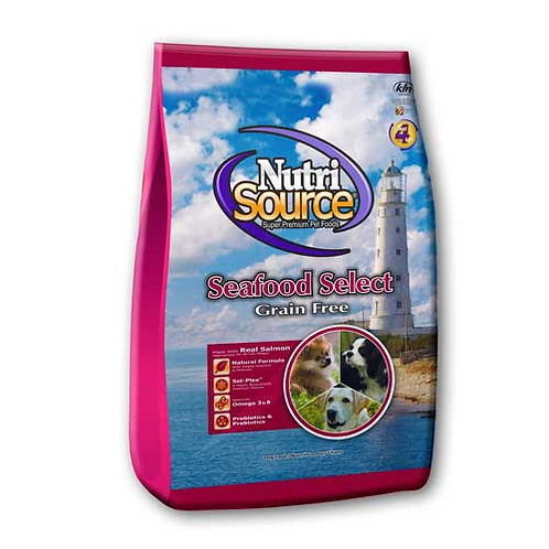 Nutri-Source Grain Free Seafood Select with Salmon