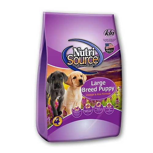 Nutri-Source Large Breed Puppy Chicken & Rice Formula