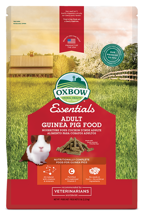Oxbow Adult Guinea Pig Food