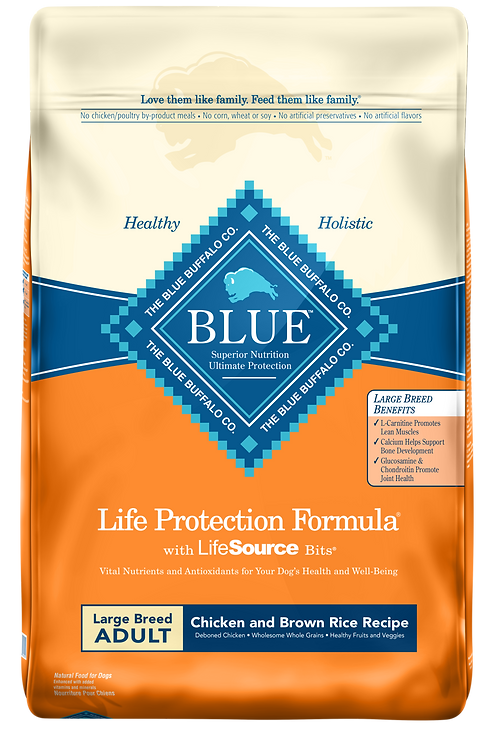 Blue Buffalo Large Breed Chicken & Brown Rice
