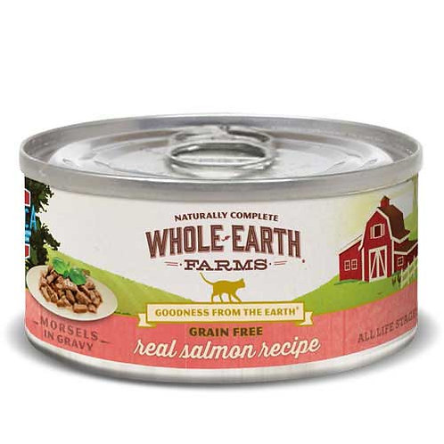 Whole Earth Farms Grain Free Morsels Salmon Recipe