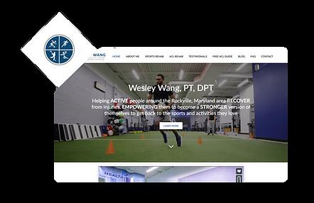 Wesley Wang WIX Website