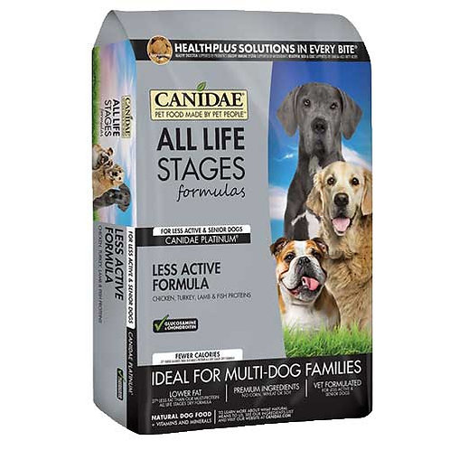 Canidae Platinum for Senior & Less Active Dogs
