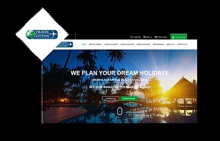 Travel Advisors WIX Website