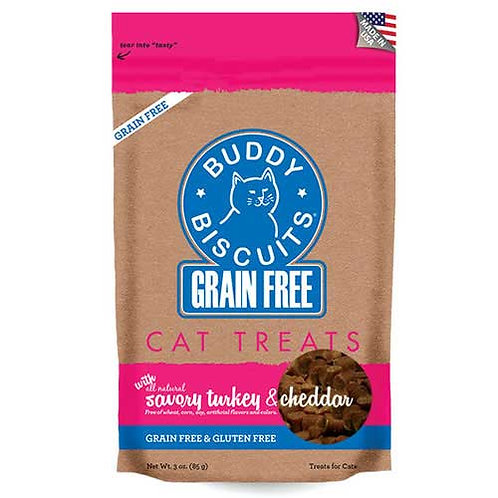 Buddy Biscuits Grain Free Savory Turkey & Cheddar