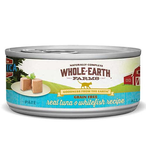 Whole Earth Farms Grain Free Pate Tuna & Whitefish Recipe
