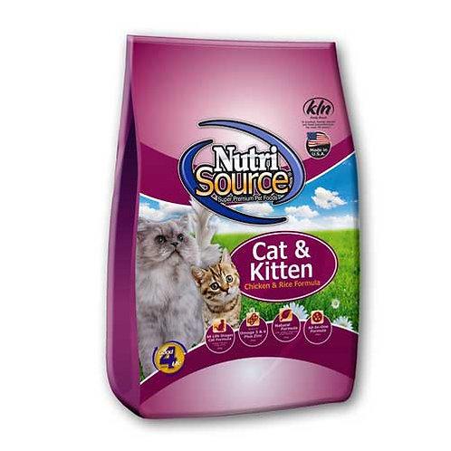 Nutri-Source Cat & Kitten Chicken & Rice