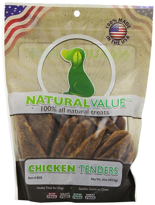 Loving Pets Natural Value Chicken Tenders 16oz