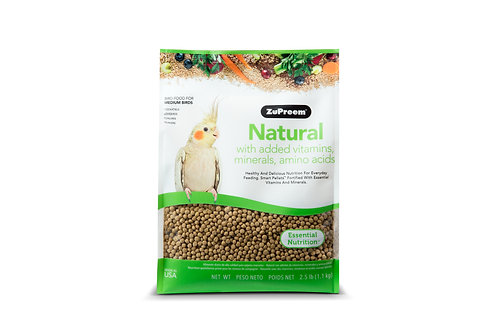 ZuPreem Natural Pellets for Medium Birds