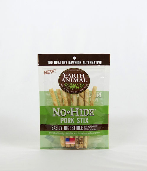 Earth Animal No Hide Pork Stix