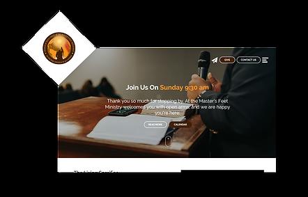 ATMF Church WIX Website
