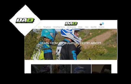 DA8 Training WIX Website