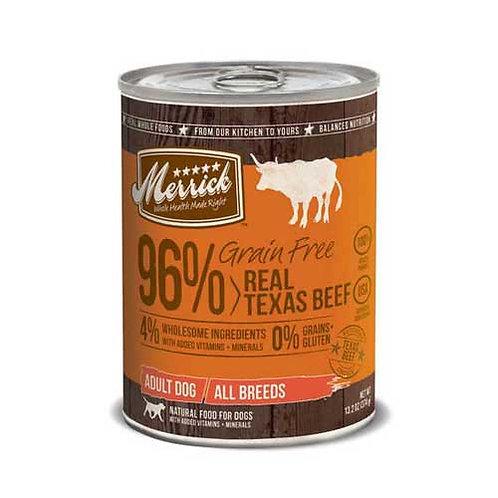 Merrick Real Texas Beef Grain Free Recipe