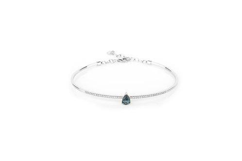 Teardrops From Sri Lanka - Dark Blue Bracelet