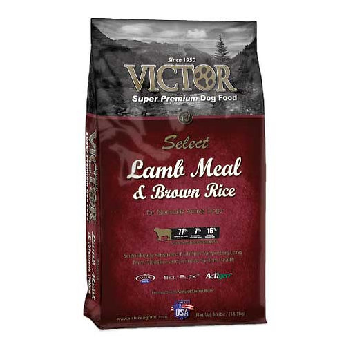 Victor Select Lamb Meal & Brown Rice