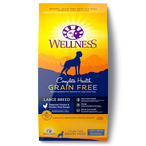 Wellness Complete Health Grain Free Large Breed