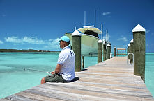 Fishing in exuma