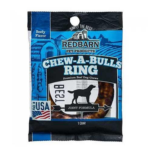 Redbarn Chew-A-Bulls Ring Peanut Butter Flavor