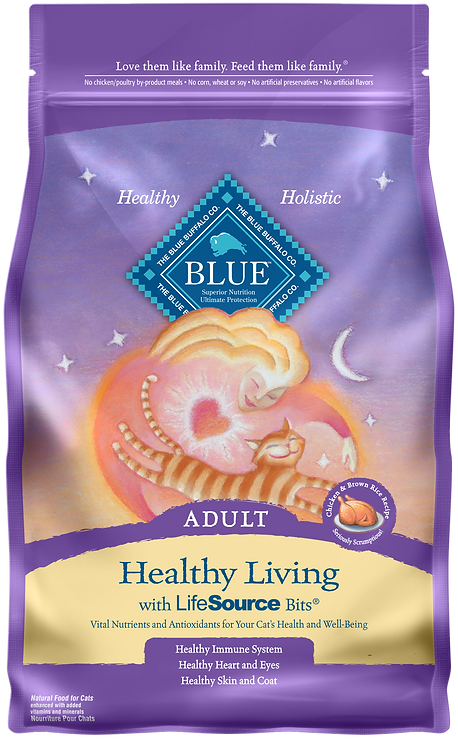 Blue Buffalo Healthy Living Adult with Chicken & Brown Rice