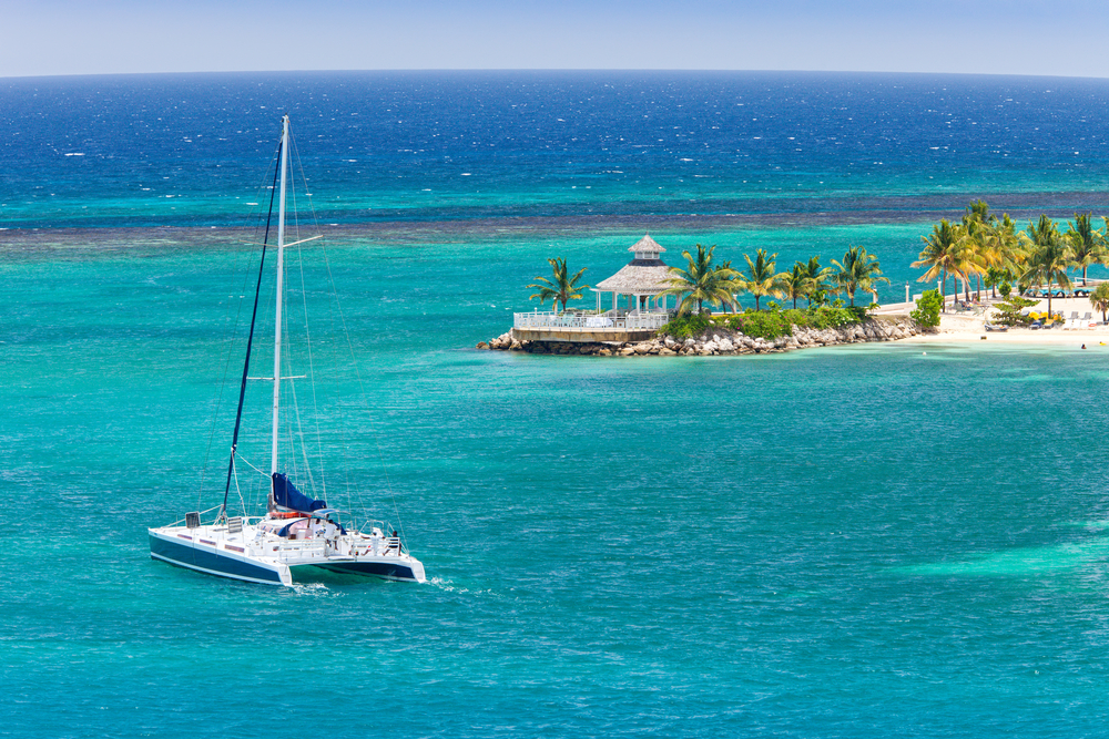Yachts in Bahamas
