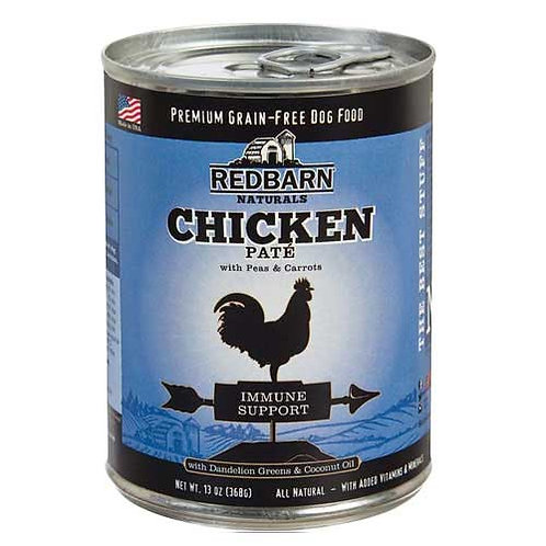 Redbarn Chicken Pate Grain Free Recipe with Immune Support