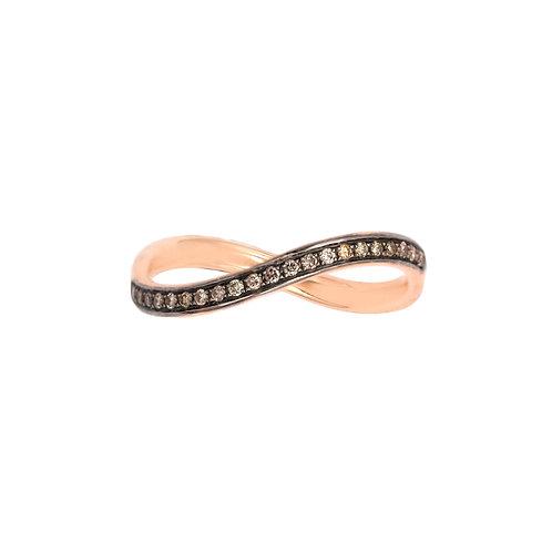 Infinity Band- Midi Ring