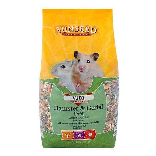 Sunseed Vita Hamster & Gerbil Diet