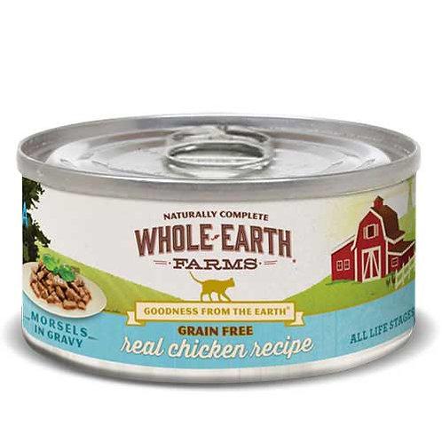 Whole Earth Farms Grain Free Chicken Morsels in Gravy