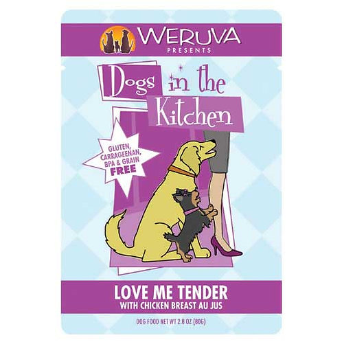 Weruva Dogs in the Kitchen Love Me Tender with Chicken Breast Au Jus
