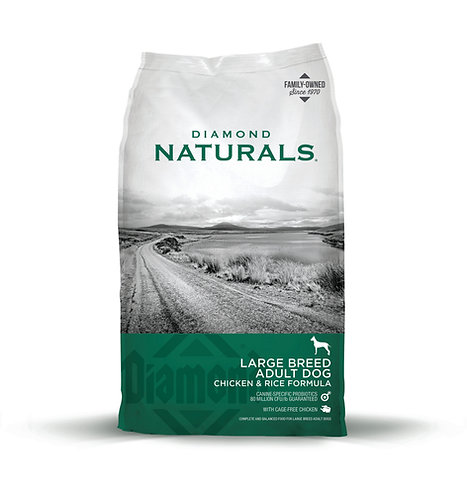 Diamond Naturals Large Breed Chicken & Rice Formula