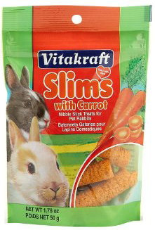Vitakraft Slims with Carrot for Rabbits