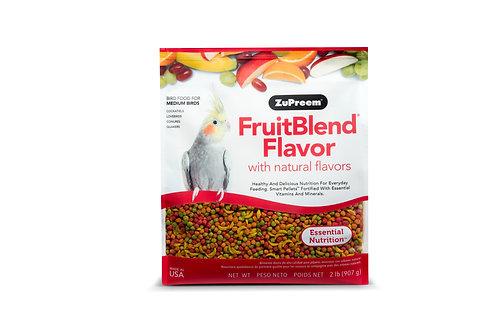 Zupreem FruitBlend Flavor Pellets for Medium Birds