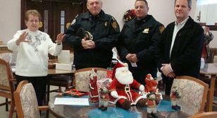 Dominican Sisters of Blauvelt Honor Orangetown Police Department With Prayer