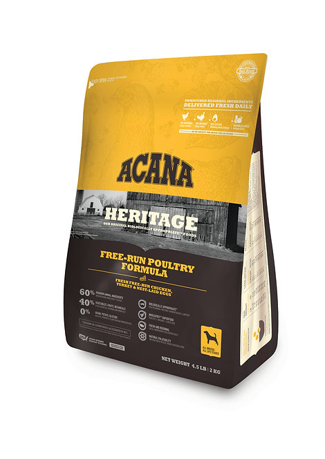 Acana Heritage Free-Run Poultry Formula