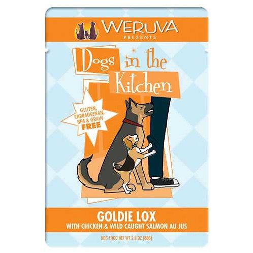 Weruva Dogs in the Kitchen Goldie Lox with Chicken & Wild Caught Salmon Au Jus