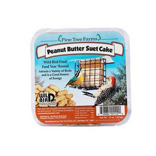 Birdwatcher's Peanut Butter Suet Cake