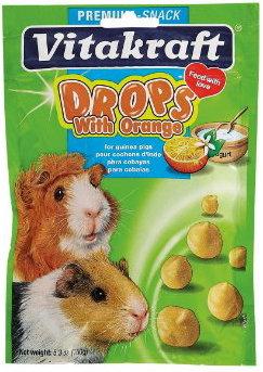 Vitakraft Yogurt Drops with Orange for Guinea Pigs