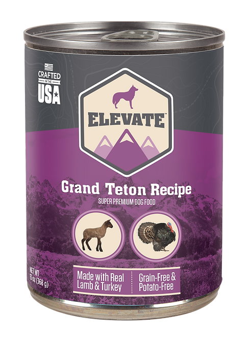 Elevate Grand Teton Recipe with Lamb & Turkey