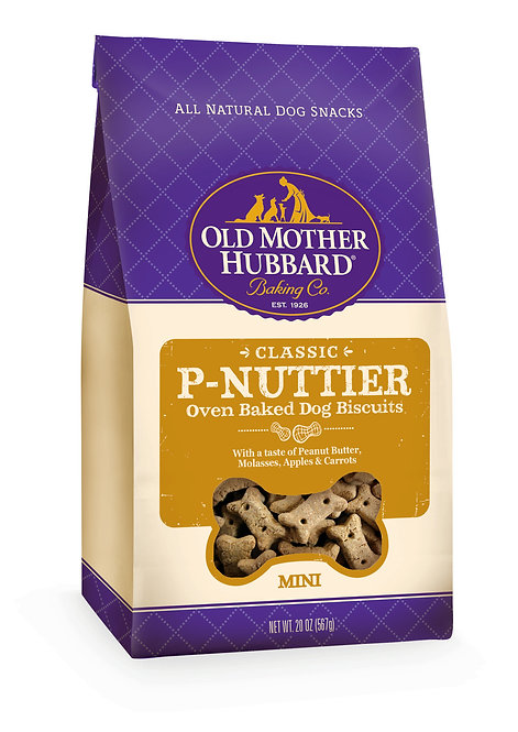 Old Mother Hubbard P-Nuttier Mini Biscuits