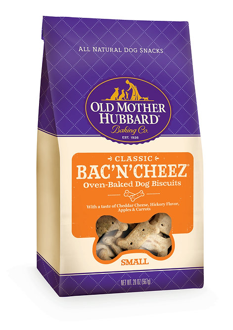 Old Mother Hubbard Bac'N'Cheez Small Biscuits