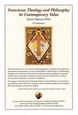 Franciscan Theology & Philosophy...