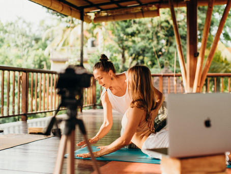 We have TWO available scholarships for our Yoga Alliance Certified Online Teacher Training in May!
