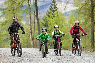 Family Mountain Bike Days Out
